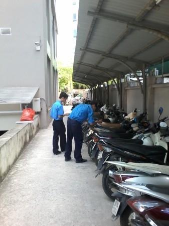 Dịch vụ bảo vệ bãi giữ xe